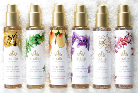 Malie Organics Launches New Island Ambiance Room Spray!