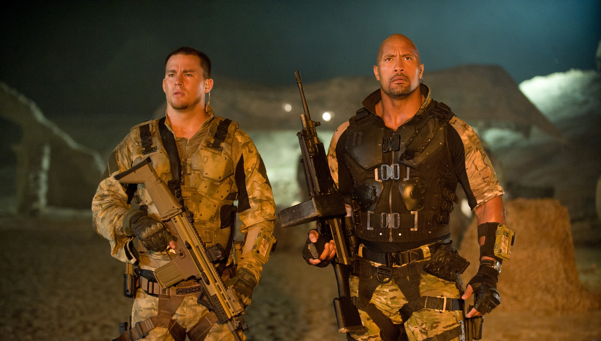 G.I. JOE: RETALIATION This Summer with Bruce Willis and Dwayne Johnson (Rock)