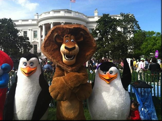 Madagascar 3: Europe's Most Wanted Visit To The White House