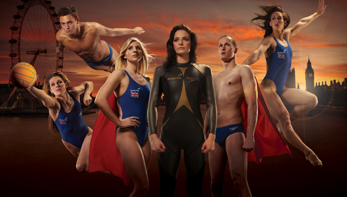 Britain's Swimming Stars turn GB Superheroes