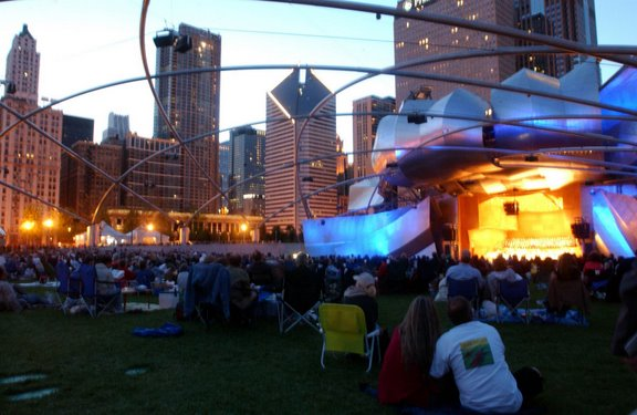 Grant Park Music Festival's 78th Season Continues In Chicago Millennium Park