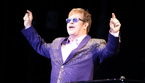 Elton John, Lenny Kravitz, Global Superstars perform at BACARDI Ibiza 123 Festival