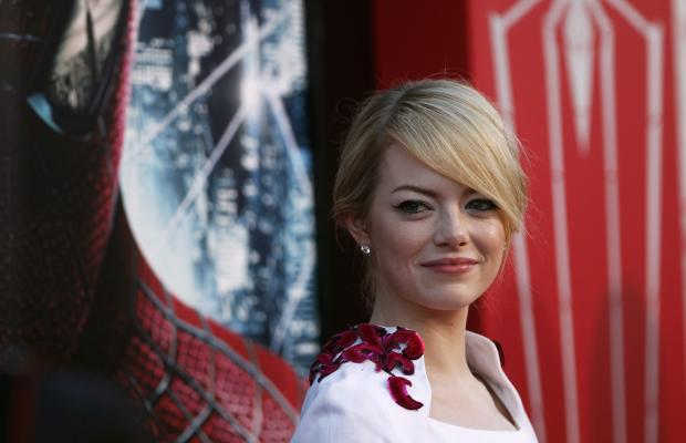 Emma Stone Hair at The Amazing Spider-Man Premiere in Los Angeles