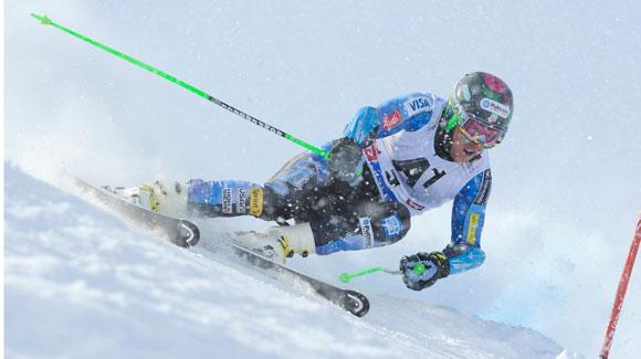 Three-time Audi FIS Alpine World Cup giant slalom champion Ted Ligety