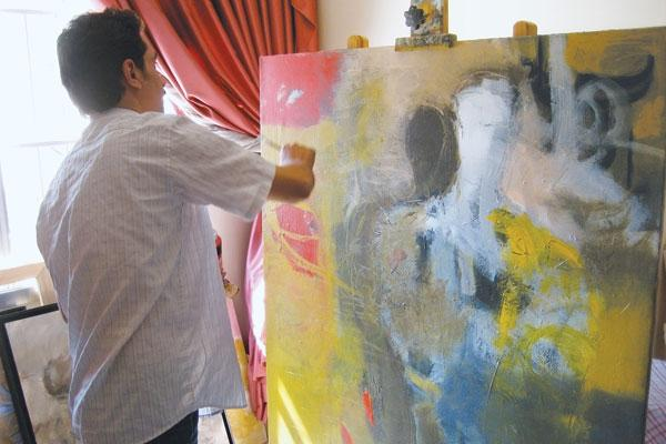 Exiled Iraqi Artists To Premiere Iconic Paintings  at NEW THEME Gallery
