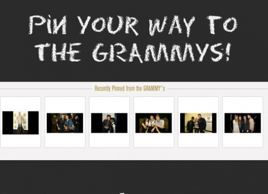 "The Recording Academy Launches ""Pin Your Way To The GRAMMYS"""