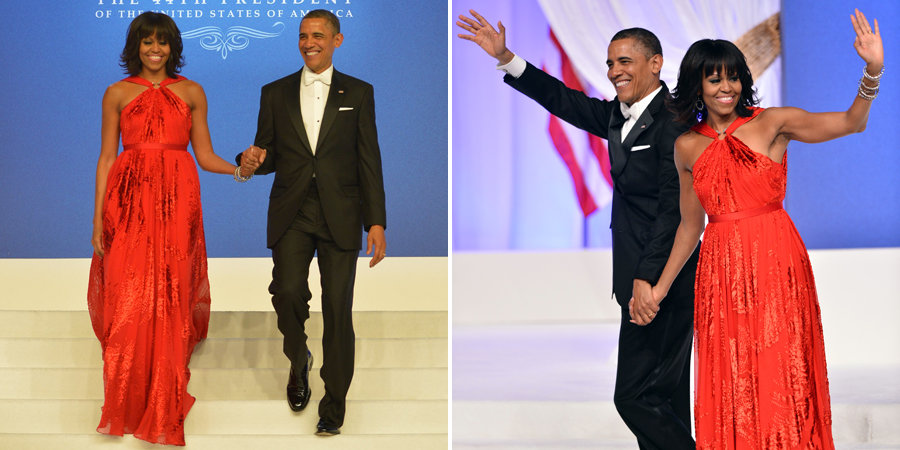 Michelle Obamas Wears Jason Wu Inaugural Ball Gown The Power