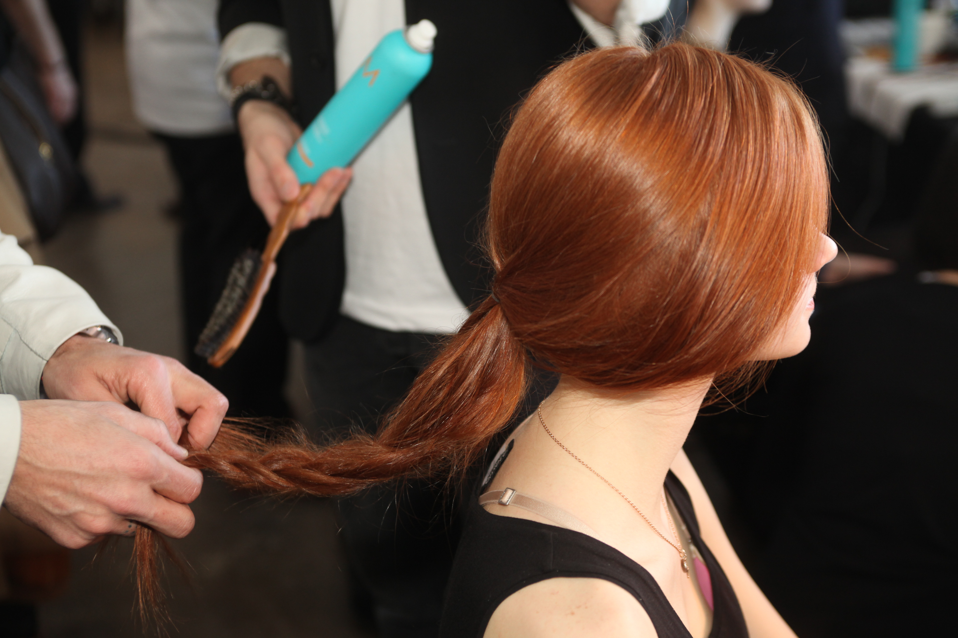 Fall/Winter 2013 Hair Looks By Moroccanoil Artistic Director Antonio Corral Calero