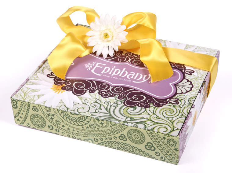 Epiphany Chocolates Introduces A new Mother's Day collection, Pretty in Paisley