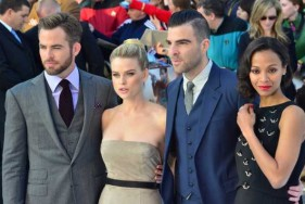 Chris-Pine-Alice-Eve-Zachary-Quinto-Zoe-Saldana-at-Star-Trek-Into-Darkness-premiere-London-May-2013