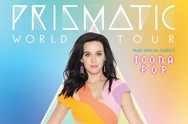 KATY PERRY –THE PRISMATIC WORLD TOUR
