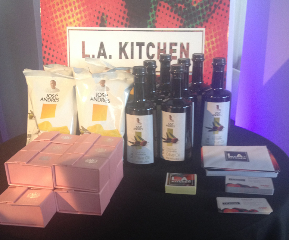 Oscars, GBK Gift Lounge, L.A. Kitchen Feature Charity of the Day