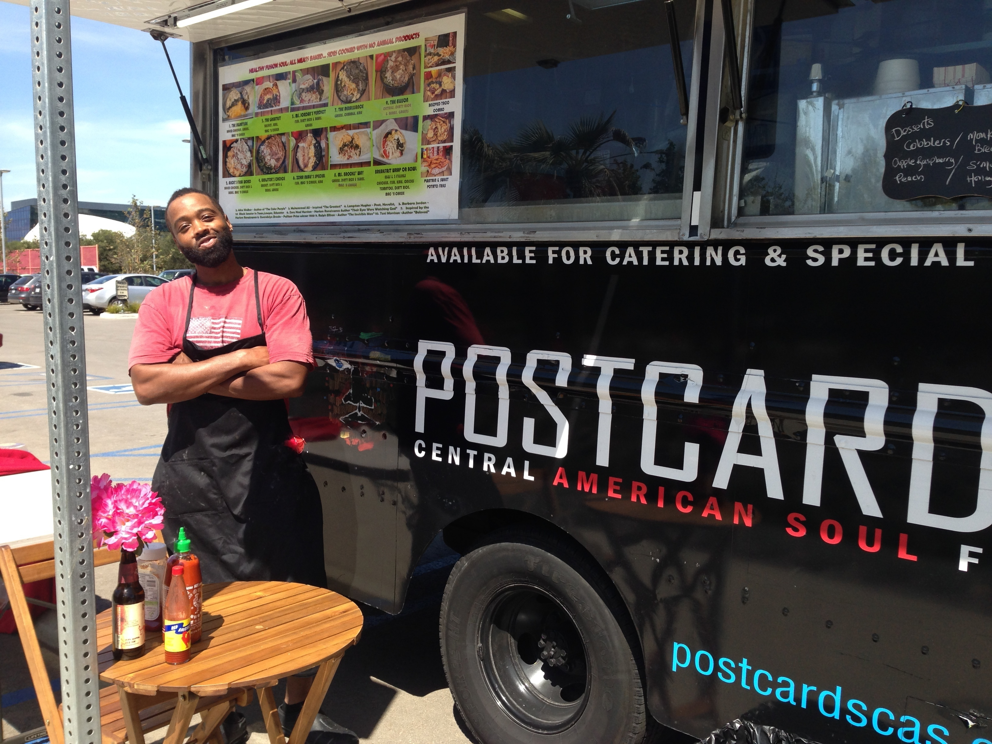 Yes To Postcards Central American Soul Food, A Southern California Gourmet Food Truck