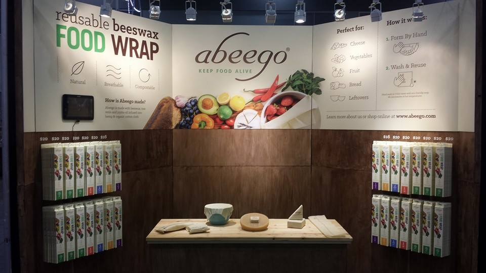 Abeego Reusable Beewaxs Food Wrap, Golden Globe, GBK Must Have Brand