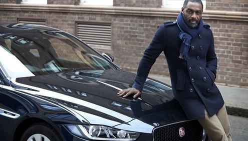Idris Elba Jaguar XE Road Trip