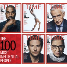 TIME 100 – THE 100 MOST INFLUENTIAL PEOPLE IN THE WORLD