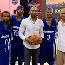NBA Legend Derek Fisher, Ball Up, Streetball May 22nd