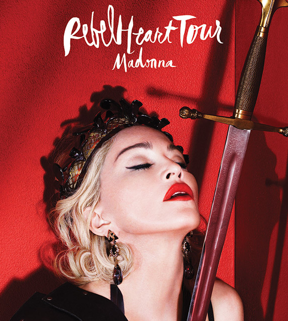 Madonna rebel heart tour dates in Brisbane