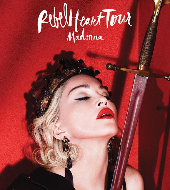 Madonna rebel heart tour dates in Brisbane