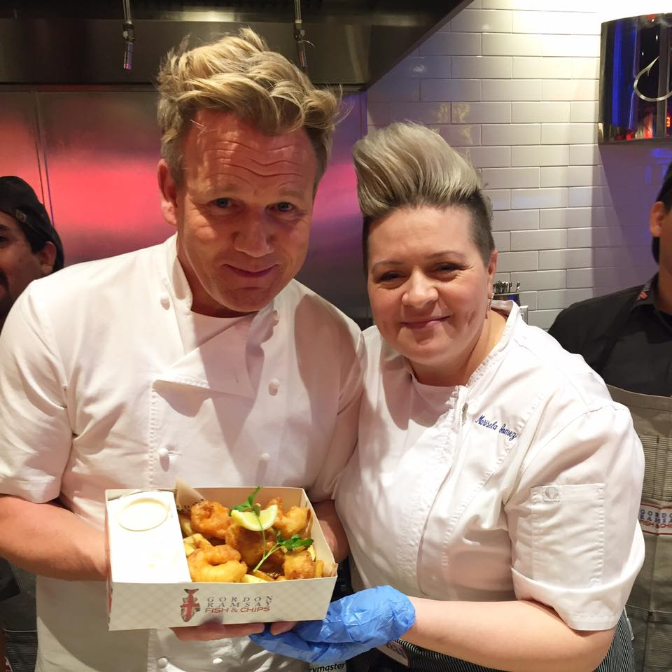 Gordon Ramsay HELL'S KITCHEN Located At Caesars Palace
