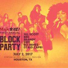 Jill Scott, officially sold out her 3rd Annual (Chicago) Summer Block Party