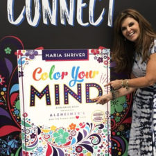 Maria Shriver's new Book Release A Coloring Book for Those with Alzheimer's
