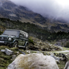 The New Mercedes-Benz G-Class premiere at the 2018 North American International Auto Show