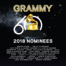 2018 GRAMMY NOMINEES ALBUM AVAILABLE NOW