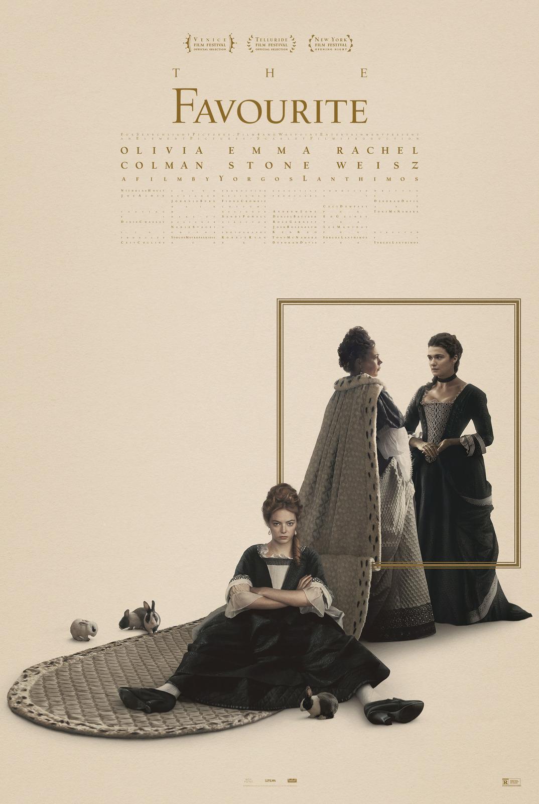 Emma Stone stars in THE FAVOURITE