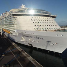 Royal Caribbean Symphony, World's Largest Cruise Ship Makes Its U.S. Debut at Port Canaveral