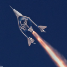 Richard Branson, Virgin Galactic's Historic First Spaceflight