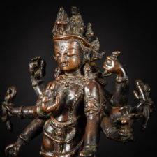 Art News: A Serene 15th century Nepalese sculpture of Amoghapasha