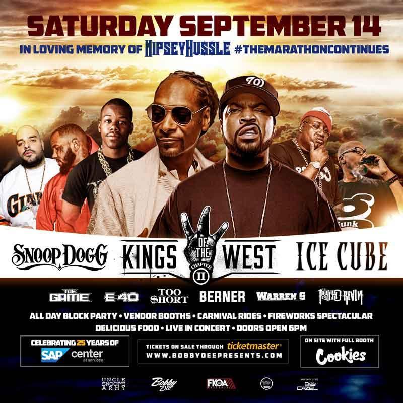 Snoop Dogg, 50Cent, Ludacris, DMX, Fabulous