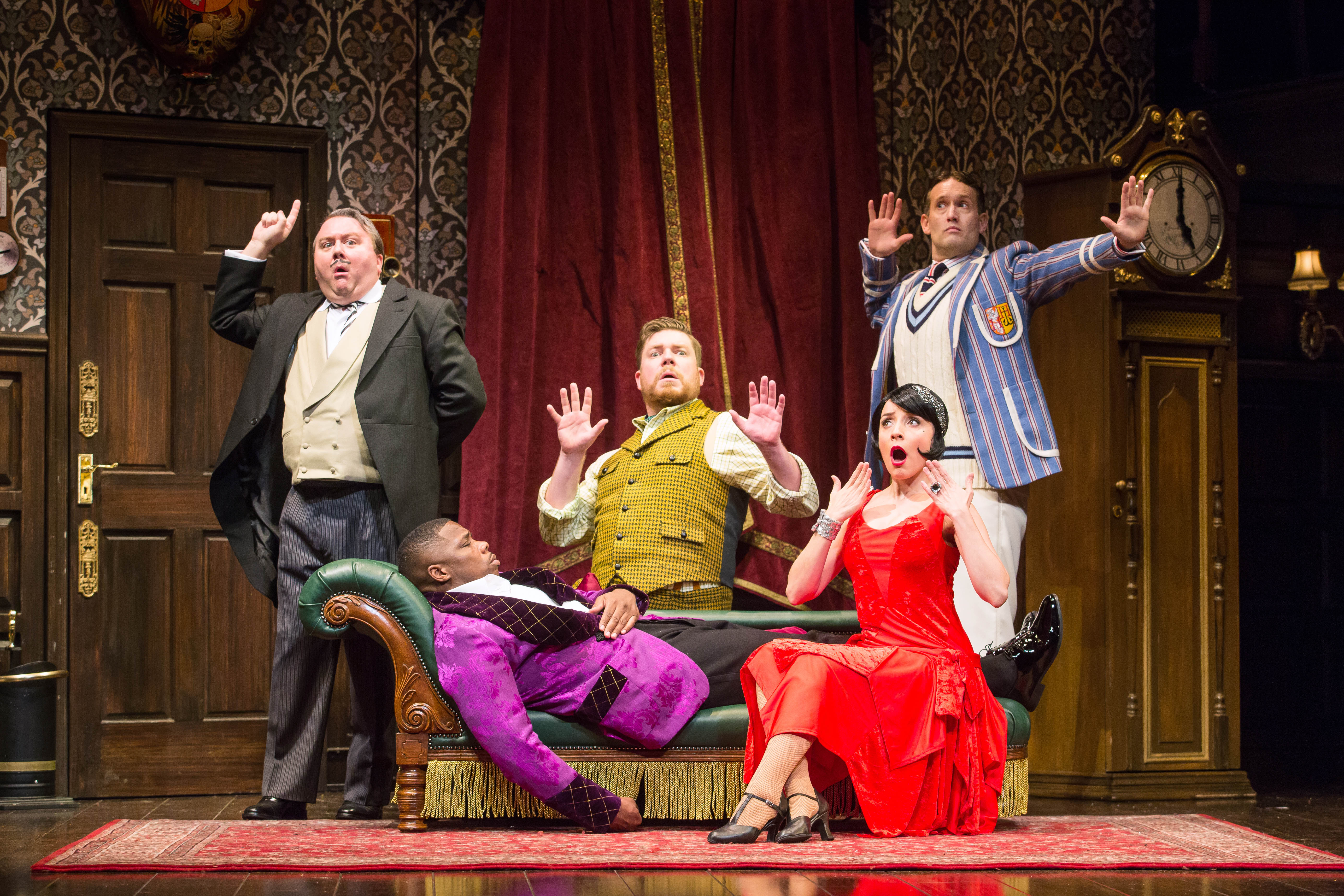 """Center Theatre Group Presents """"The Play That Goes Wrong"""""""
